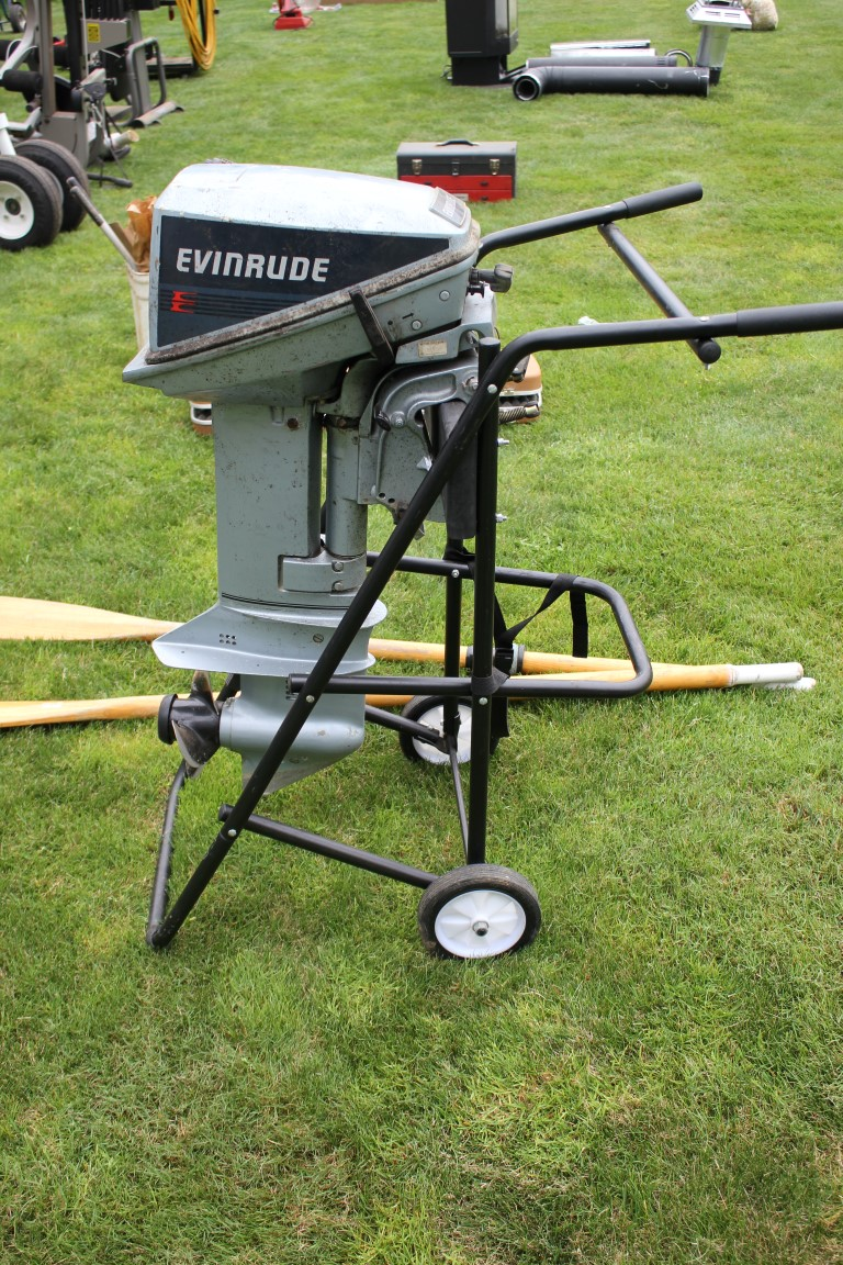 Lucky Collector Car Auctions | Lot 523- Evinrude 15 HP Outboard