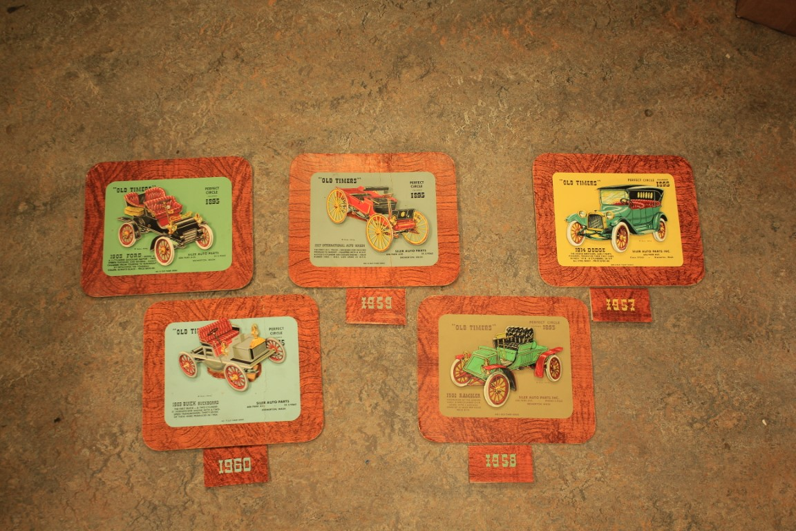 Lot 514- Old Timers Calender Advertisements