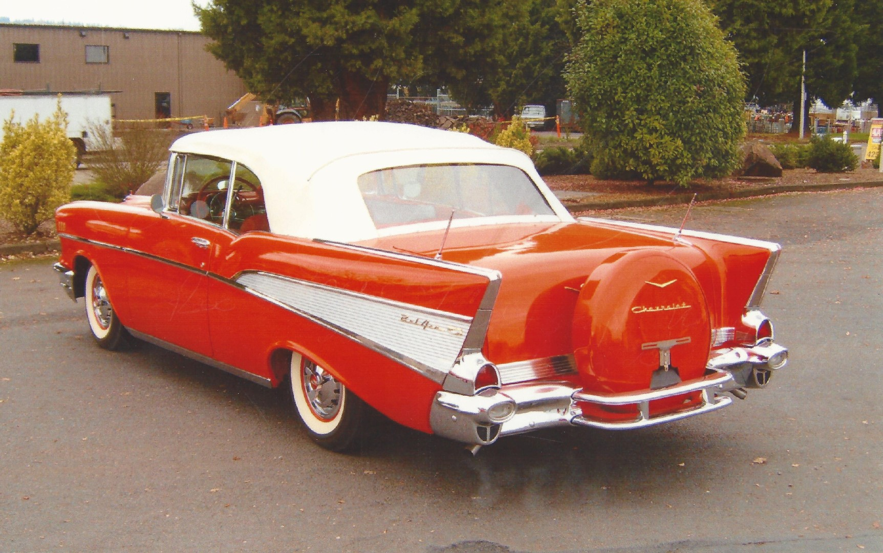 Lucky Collector Car Auctions Lot 549 1957 Chevrolet Bel Air Chevy Convertible