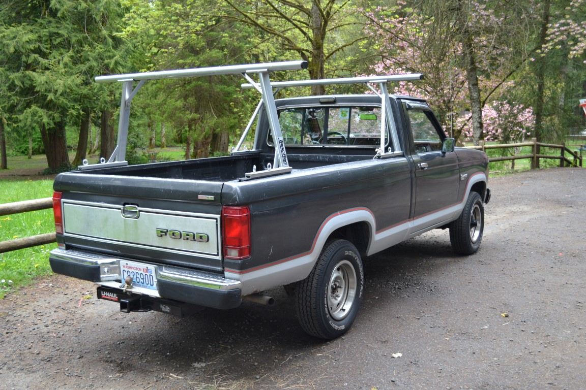 Lucky collector car auctions lot 376 1987 ford ranger