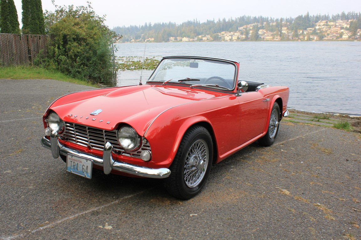 Lucky Collector Car Auctions Lot 659 1964 Triumph Tr4 Roadster