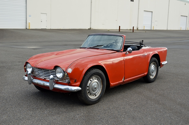 Lucky Collector Car Auctions   Lot 003 – 1962 Triumph TR4