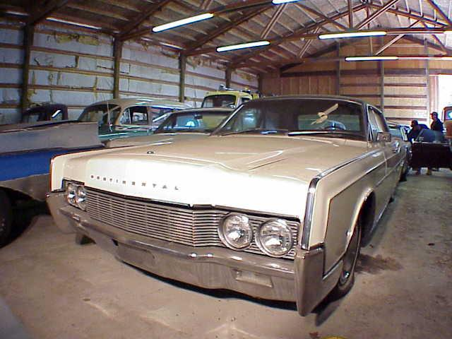 Lucky Collector Car Auctions Lot 204 1966 Lincoln Continental 2 Door