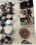 Lot 42- Heaters- Air Cleaners- Clutches- Assorted Bumpers.JPG
